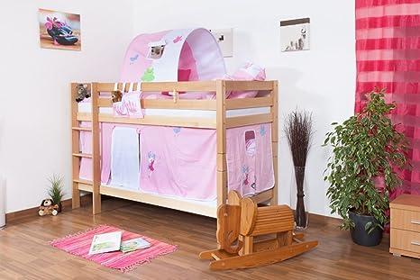 Letto Per Bambini Fai Da Te : Letto a castello per bambini legno massiccio di faggio 90 x 200 cm