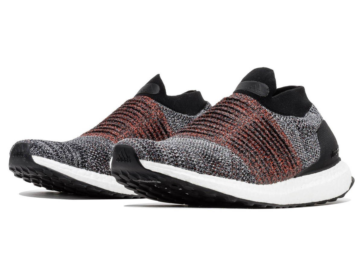 e782895235163 adidas Ultraboost Laceless Men s Running Shoes Core Black Multi S80769 11M
