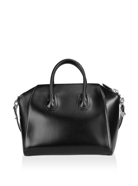c6ae616e4b Amazon.com: Givenchy Women's Antigona Medium Sugar Satchel Bag, Black: Shoes