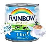 Rainbow Lite Evaporated Milk With Vitamin D, 170 gm