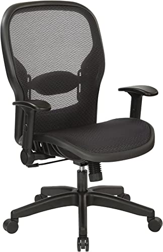 Space Seating Air Grid Back and Seat Managers Chair