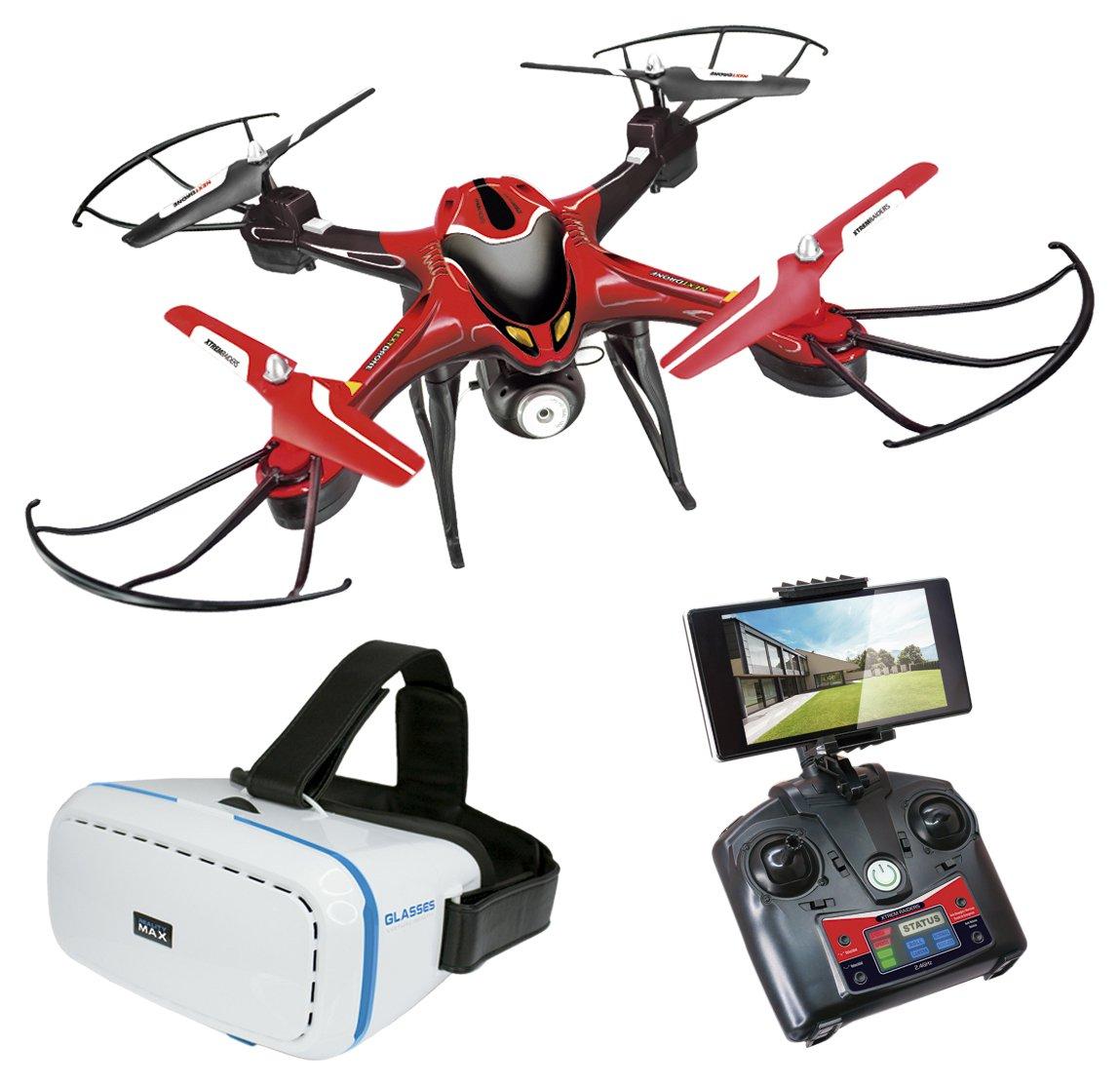 tienda World Brands Brands Brands Xtrem Raiders-Next Drone con Gafas VR  nuevo sádico