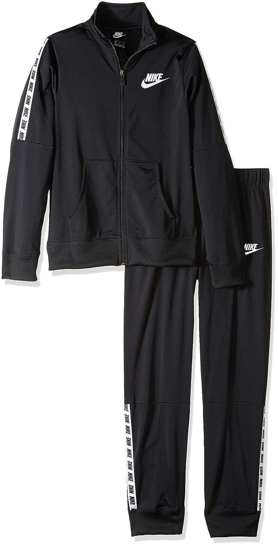 Noir (noir noir blanc 010) FR   Taille Unique  Nike G NSW TRK Suit Tricot Veste Fille