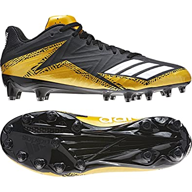 the best attitude 91c77 ebae1 adidas Freak X Carbon Low Cleat - Men s Football 8 Core Black White Gold