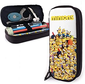 Mini-Ons Pencil Case Simple Zipper Stationery Bag, for School Student Teen Office Adult, Pen Marker School Supplies