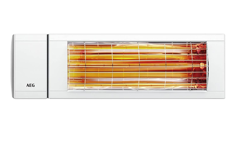 AEG 229955 IR Premium Plus 2024 - Estufa por infrarrojos de onda corta (2000 W, 230 V, IP 24), color blanco: Amazon.es: Hogar