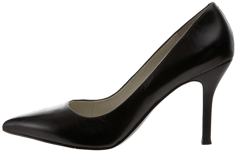 Nine West Flax Damen Schwarz Spitz Spitz Spitz Leder Pumps Schuhe EU 44 92db9f