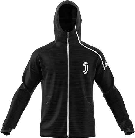 adidas 2018 2019 Juventus Zne 3.0 Anthem Jacket (Grey