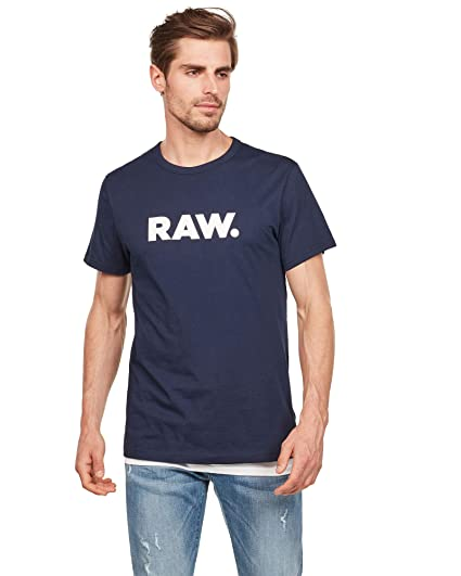 G-STAR RAW Holorn R T S/S Camiseta para Hombre: Amazon.es: Ropa y ...