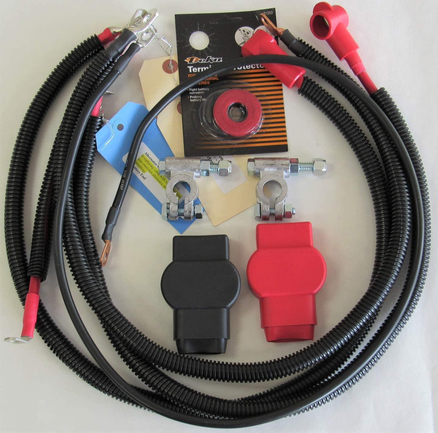 jeep tj battery wiring amazon com 1998 2006 jeep wrangler tj 6 cylinder 4 0l 2 gauge  2006 jeep wrangler tj 6 cylinder 4 0l