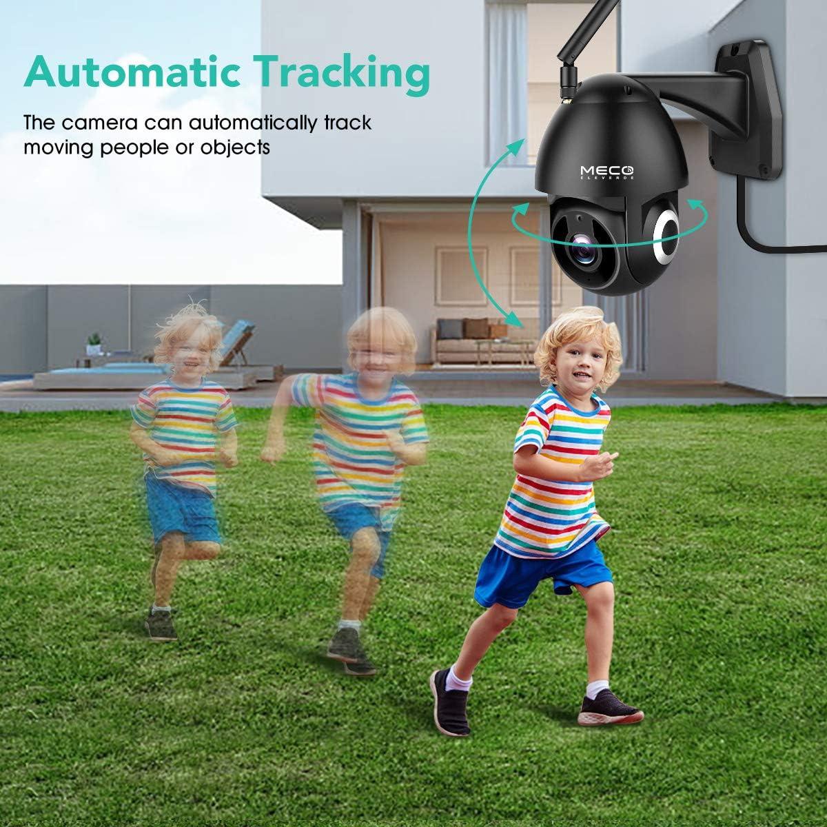 Outdoor motion sensor camera
