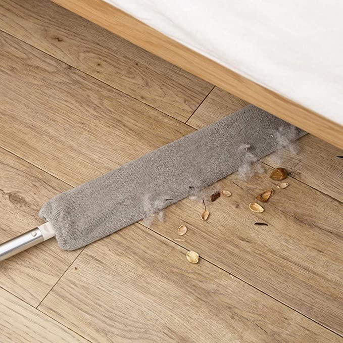 Bedside Dust Brush Long Handle Mop Sweep Artifact Home Bed Bottom  Gap Clean