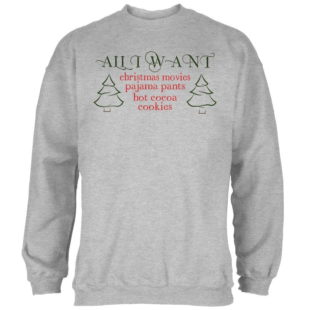 Old Glory All I Want for Christmas Mens Sweatshirt