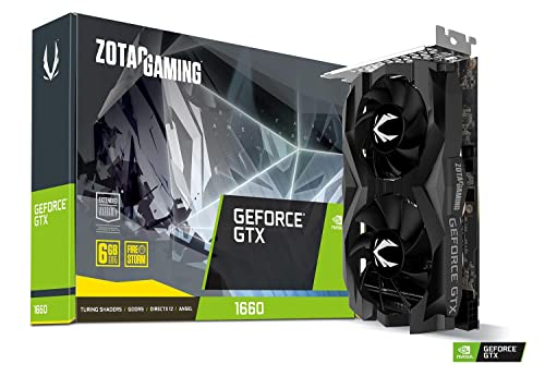 ZOTAC Gaming GeForce GTX 1660 6GB GDDR5