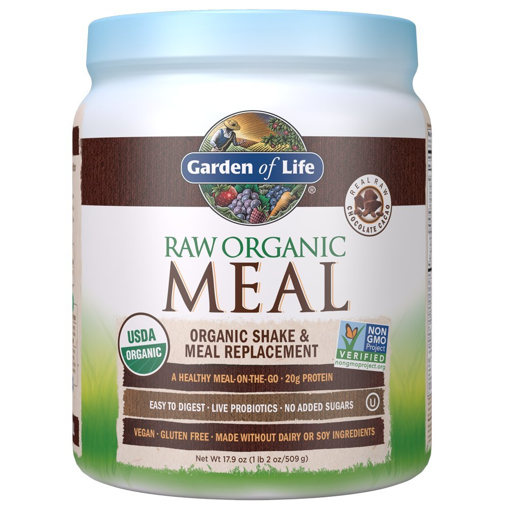 Garden Of Life, Meal Raw Chocolate Organic, 17.9 Ounce by Garden of Life (Image #1)