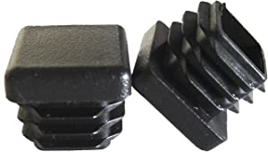 OGC (10 Pack) - 5/8 Inch Square Tubing for Plastic Plug Cap Cover Tube Durable Chair Glide Insert Finishing Plugs