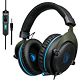 SADES R3 Gaming Headset Over-Ear Gaming Headphones with with Volume Control for New Xbox One Mic PC PS4