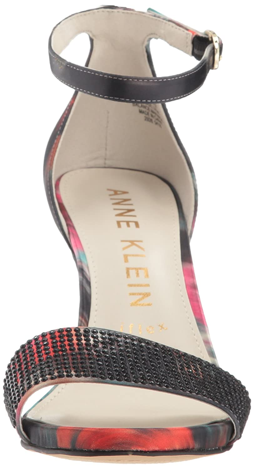 4450e02c2bf Anne Klein Women s Odree Ankle Strap Evening Sandal Heeled  Amazon.co.uk   Shoes   Bags