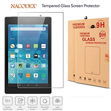 Tablet Tempered Glass Screen Protector Cover For Amazon Kindle Fire HD 10 2015