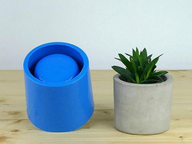 Amazon Com Concrete Planter Mold Concrete Flower Pot Mould