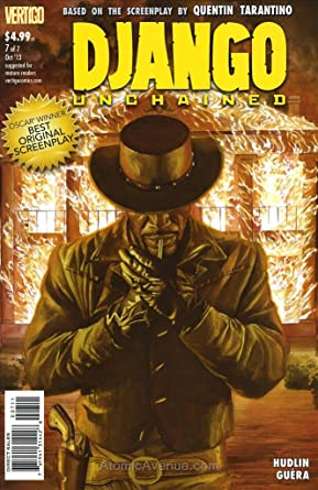 DJANGO UNCHAINED #5 QUENTIN TARANTINO DC COMIC BOOK BASED ON MOVIE NEW 1 OF 7