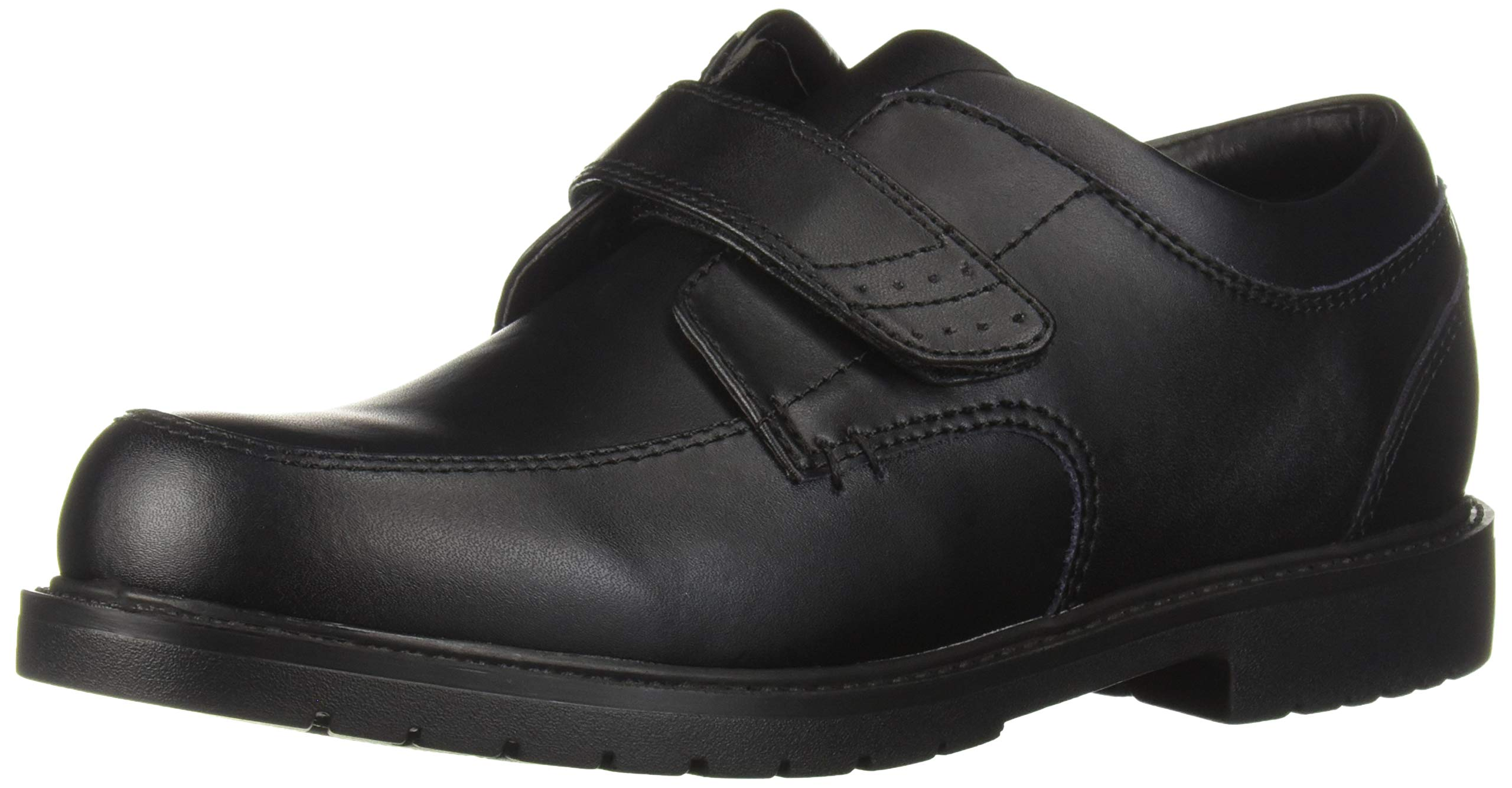 Academie Gear Boys' Inside School Uniform Shoe, Black, 13.5 Medium US Little Kid