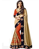 Sarees(Indian E Fashion sarees for women party wear offer designer sarees for women latest design sarees new collection saree for women saree for women party wear saree for women in Latest Saree With Designer Blouse Free Size Beautiful Saree For Women Party Wear Offer Designer Sarees With Blouse Piece)