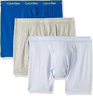 7ddd2ec46fc Calvin Klein Men s Cotton Stretch 3 Pack Boxer Briefs at Amazon ...