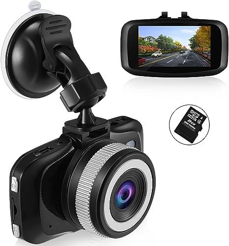 Dash Cam Dashboard Camera Compatible SD Card 16GB