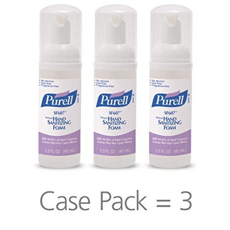 Buy Purell Alcohol Free Foam Hand Sanitizer Advanced Non Alcohol