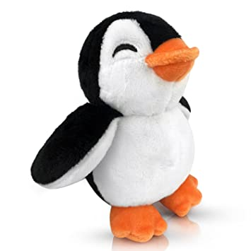EpicKids Pingüino de peluche con texto en inglés Mr. Chil
