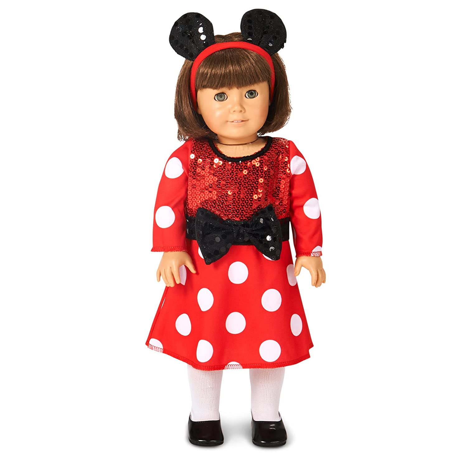 Red and White Mouse 18 Doll Costume BuyCostumes