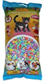Hama - 205-50 - Loisirs Créatifs  - Perles et Bijoux  - Sachet 6000 Perles Pastel Mixte