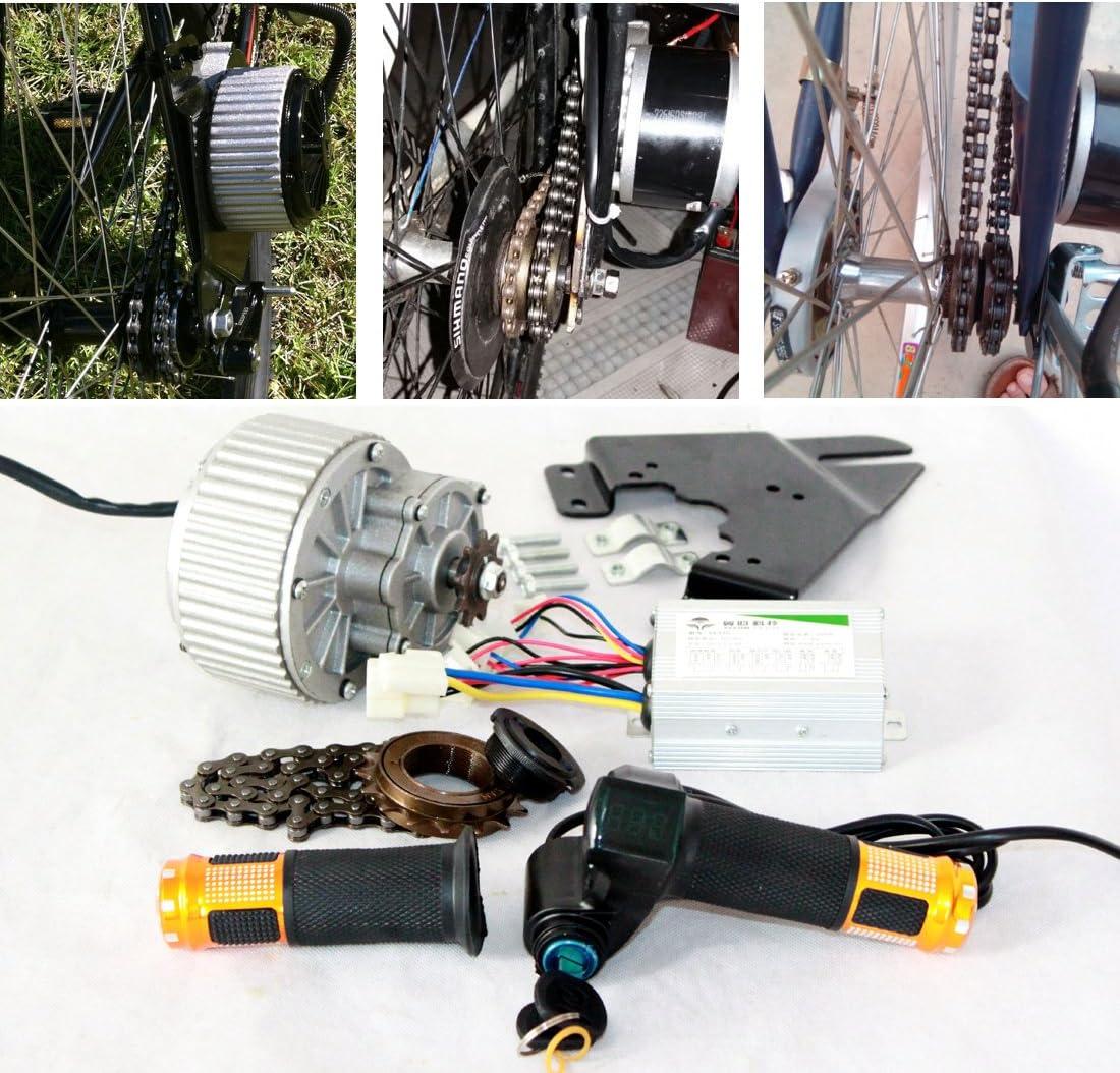 450W bicicleta electrica motor barato económico kit fácil de ...