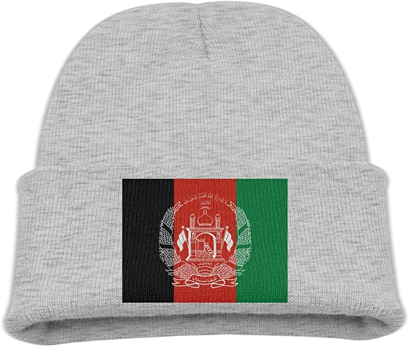 ee8d0424c Amazon.com: ZWZ Afghan Flag Kid's Hats Winter Funny Soft Knit Beanie ...