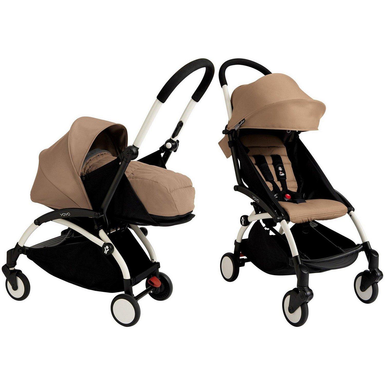 Babyzen YoYo+ Stroller Bundle (Yoyo+ Stroller, Canopy & Newborn Pack) (Taupe)