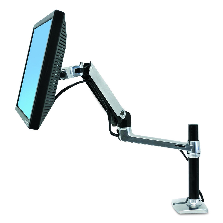Ergotron LX Series Desk Mount LCD Arm, Tall Pole 45-295-026