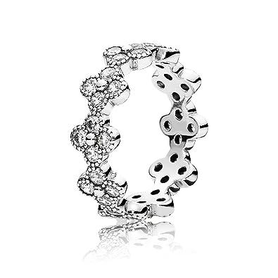 7222f9818 Amazon.com: Pandora 191000cz-58 Oriental Blossom ring: Jewelry