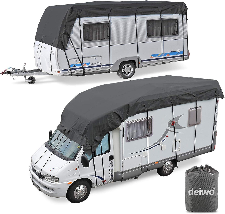 Wohnwagen & Wohnmobil Schutzdach  Dachschutzplane  8 bis 8 m
