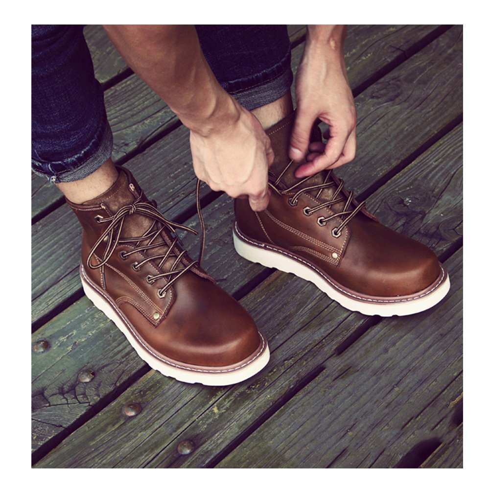 408c8451ccc69d casual chaussures robe alpinisme automne plein air confortable boots glisser  sur blanc -E Longueur du pied=40EU: Amazon.fr: Chaussures et Sacs