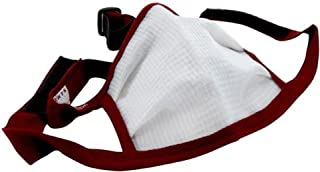 product image for Large Dust Bee Gone Mask - Maroon Edging