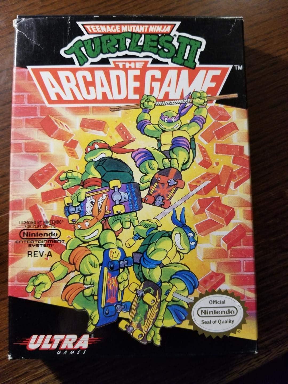 Amazon.com: Teenage Mutant Ninja Turtles II: The Arcade Game ...