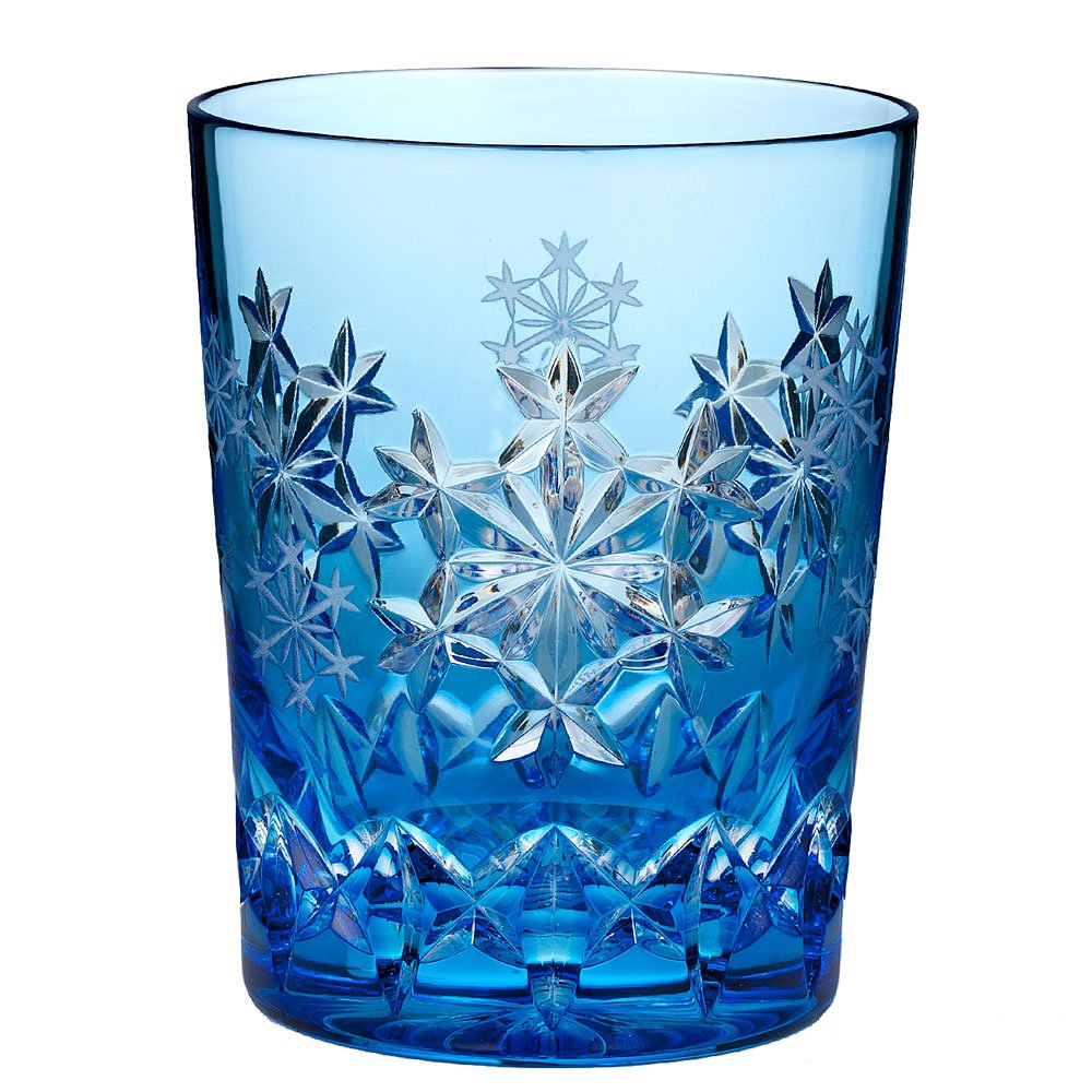 Waterford Snowflake Wishes 2013 ''Goodwill'' Kerry Prestige Double Old Fashioned Glass
