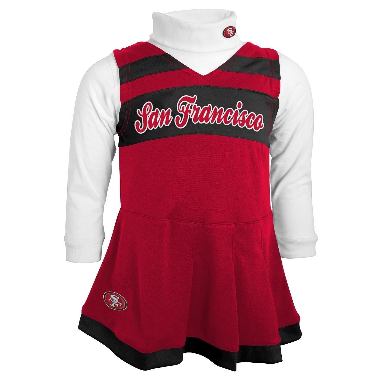 Amazon San Francisco 49ers Infant Cheerleader Dress & Bodysuit