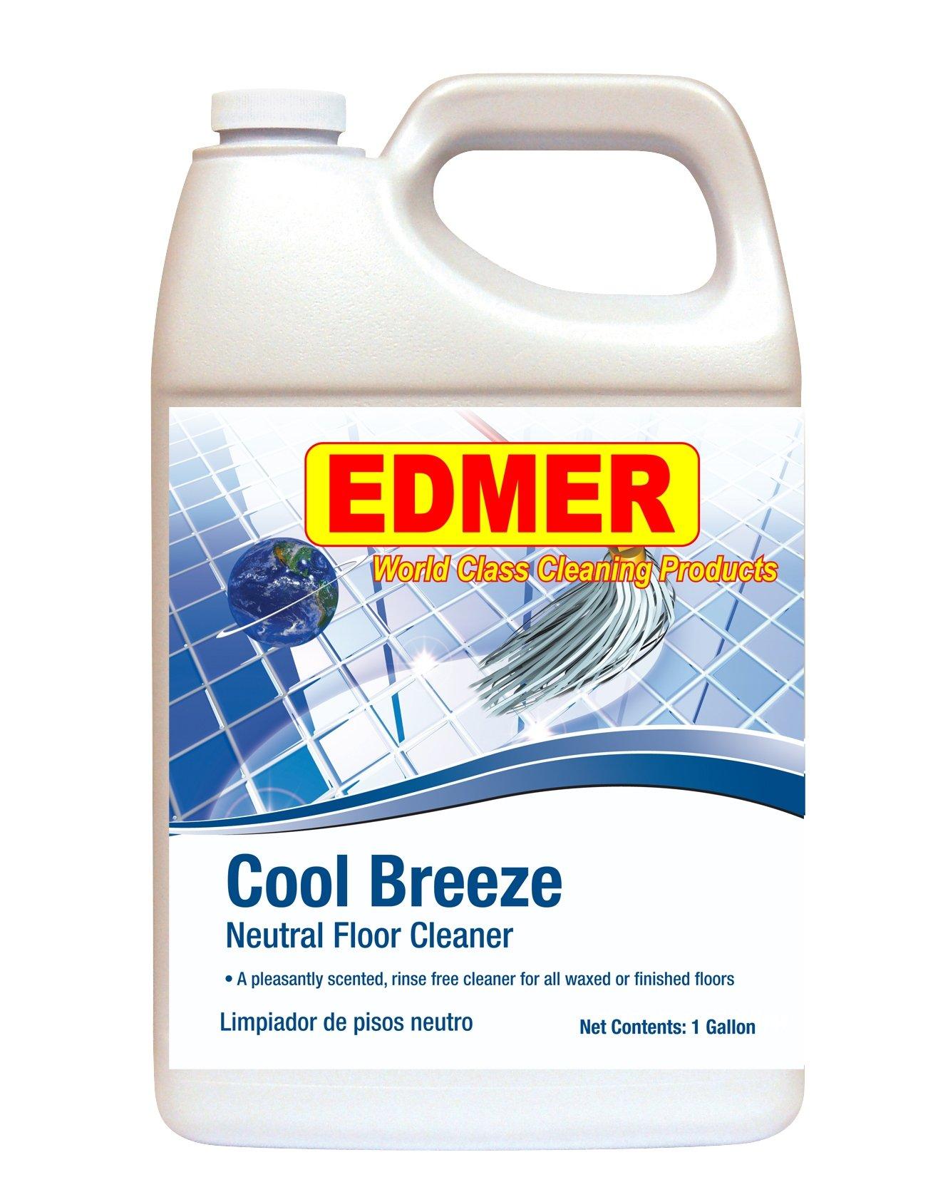 Edmer Cool Breeze Neutral Floor Cleaner - 4 gallons per case
