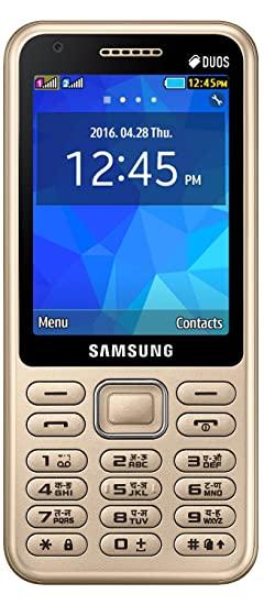 736233f306c378 Samsung Metro XL (Gold): Amazon.in: Electronics