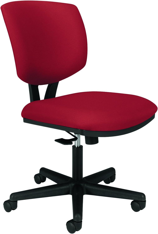 HON Volt Task Chair - Upholstered Computer Chair for Office Desk, Crimson  (HH50)