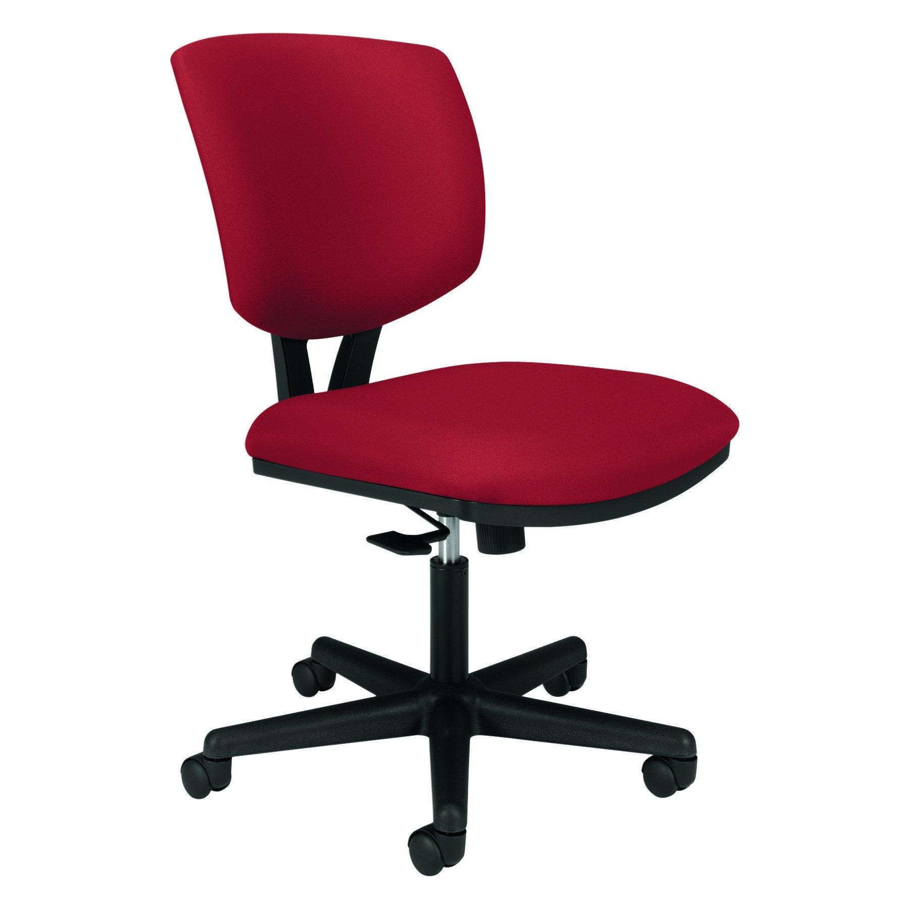 HON Volt Task Chair - Upholstered Computer Chair for Office Desk, Crimson (HH5701)