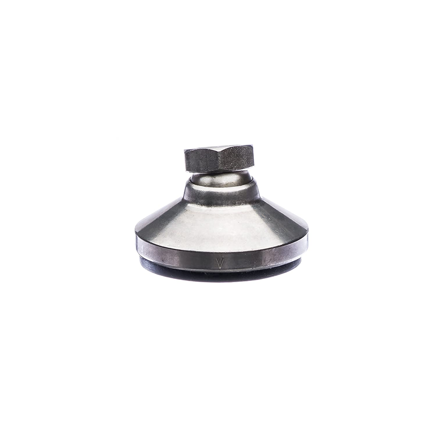Vlier HVESSP306B High Value Series Leveling Device 1//2-13 Thread Size 1 1//2 Long Stainless Steel