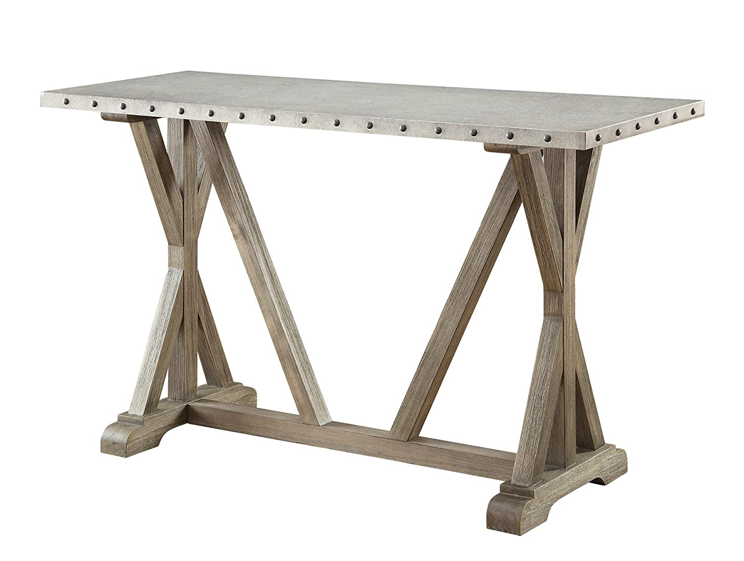Amazon coaster 703749 home furnishings sofa table driftwood amazon coaster 703749 home furnishings sofa table driftwood kitchen dining geotapseo Images